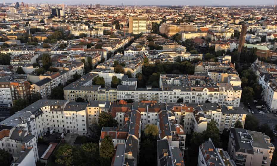 The Wilmersdorf district of Berlin.