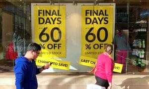 Retail sales Sydney