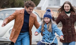 Zac Efron, Morgan Pyle and Lily Collins in Extremely Wicked, Shockingly Evil and Vile.
