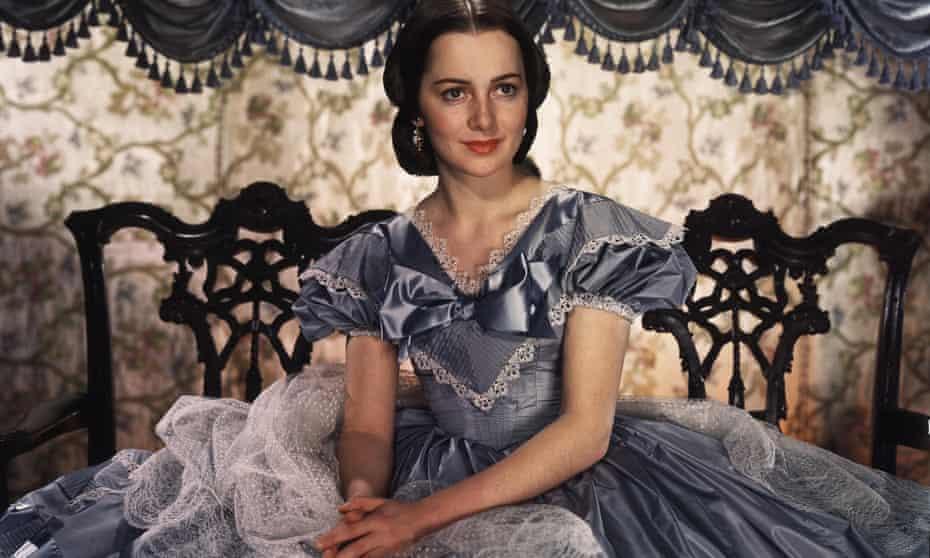 Olivia de Havilland as Melanie Hamilton, in Gone With the Wind, 1939.