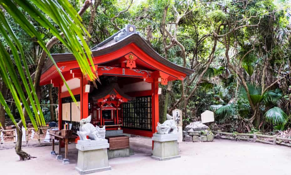 The inner sanctuary of Aoshima shrine, Miyazaki, Japan