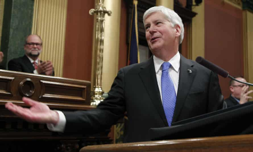 Republican governor Rick Snyder signed laws to significantly scale back citizen-initiated measures to raise Michigan's minimum wage and require paid sick leave for workers.
