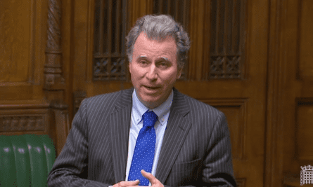 Oliver Letwin speaking in the House of Commons. He and fellow Tory Nick Boles met Jeremy Corbyn