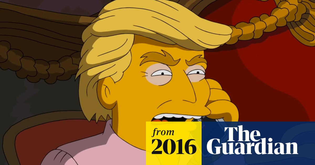 The Simpsons imagines the terrors of Trump as president in fake