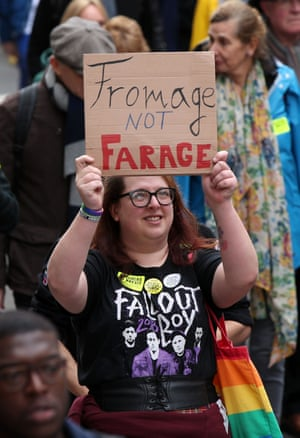 'Fromage not Farage'