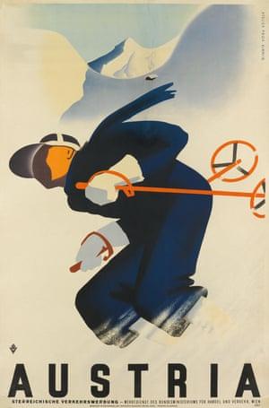 Austria, c.1930 Paul Kirnig's dynamic vision for the Austrian Tourist Board
