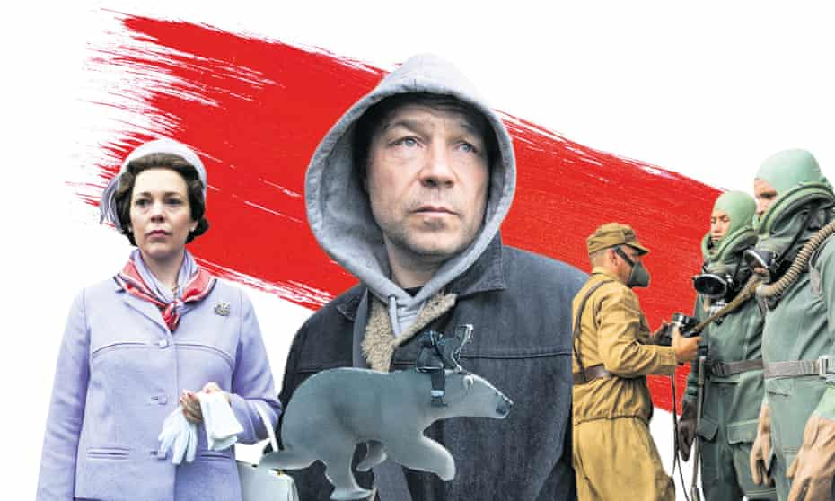 Olivia Colman in The Crown; Stephen Graham in The Virtues; Chernobyl; His Dark Materials.