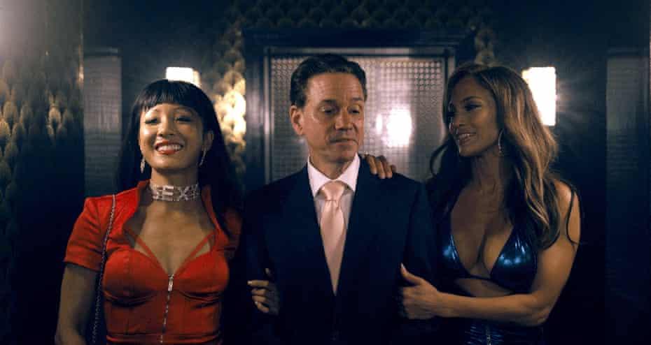 Constance Wu, Frank Whaley and Jennifer Lopez.