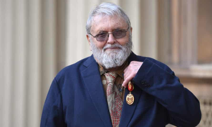 Robert Cohan after receiving his knighthood in 2019.