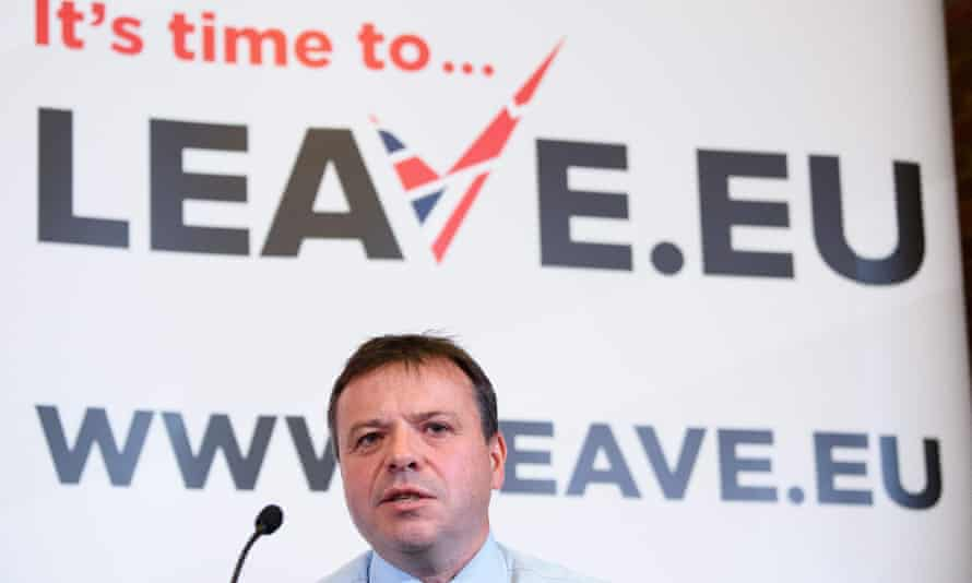 Arron Banks co-founded the Leave.EU campaign group.