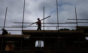 Strong commercial activity helped the construction sector recover from a seven-month low.