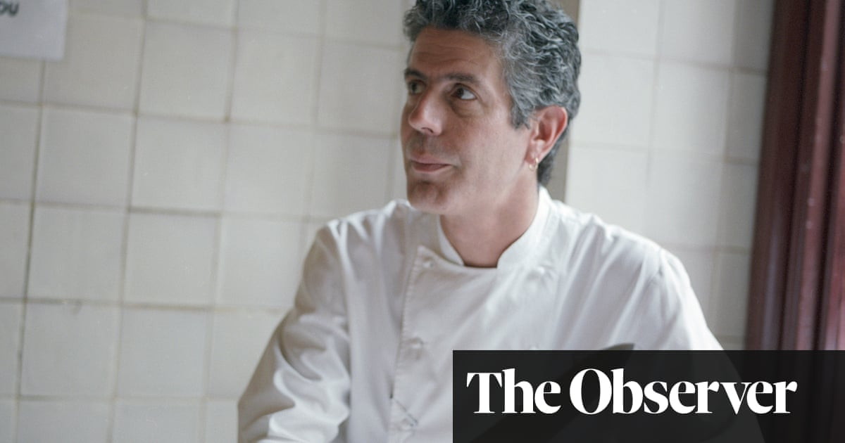 Frozen in Time: Anthony Bourdain, New York, May 2001