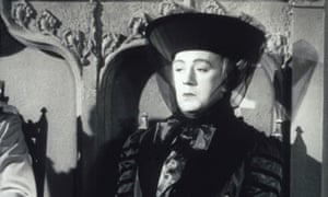 Alec Guinness as Lady Agatha D'Ascoyne in Kind Hearts and Coronets.