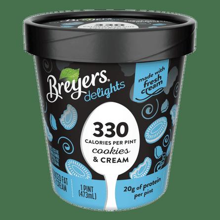 Breyers Delights cookies and cream.
