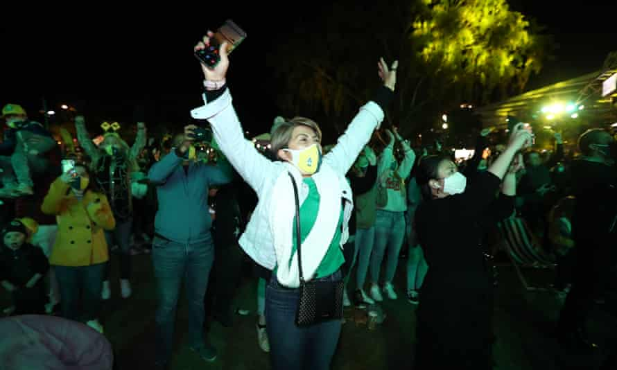 The IOC announcement sparked celebrations in Brisbane on Wednesday night as fireworks erupted