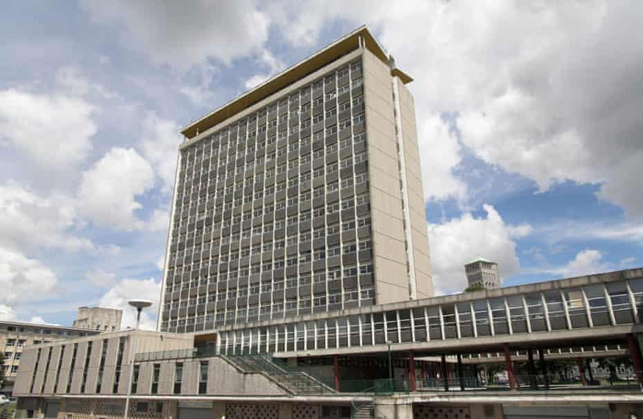Redevelopers Urban Splash have acquired the brutalist Civic Centre office block.