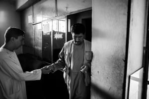 Shah's clients consult with him about a variety of problems, but many now seek his advice on leaving Afghanistan and starting a new life overseas