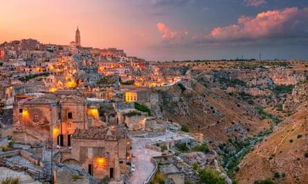 'Like nowhere else on Earth: Matera, Italy.