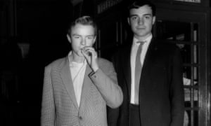 Max Mosley, left, and his brother Alex.