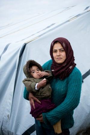 Khadija and Mariam, from Iraq