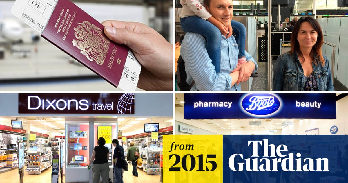 Airport shops row: Boots and Dixons to issue new rules on