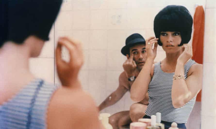 Brigitte Bardot and Michel Piccoli in Le Mépris (1963). Photograph: NANA Productions/REX