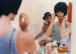 Brigitte Bardot and Michel Piccoli in Le Mepris directed by Jean-Luc Godard.