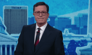 'How did our politics get so poisonous?' ... Stephen Colbert.