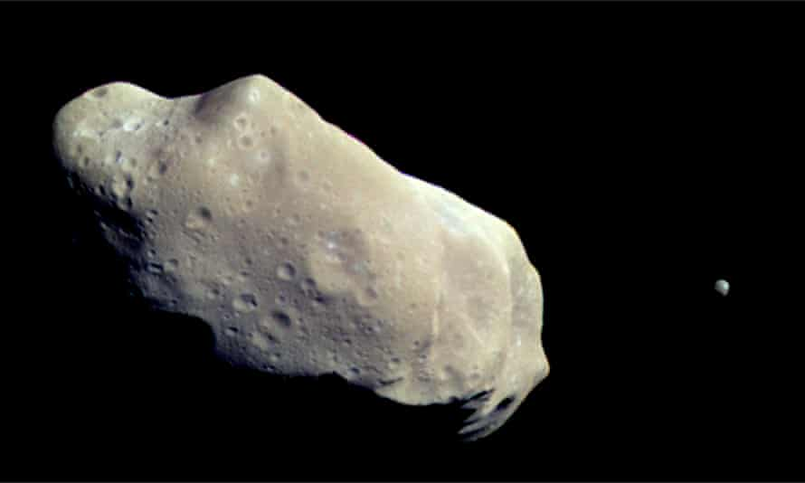The asteroid 243 Ida. The answers to question 3 was all about rock legends.