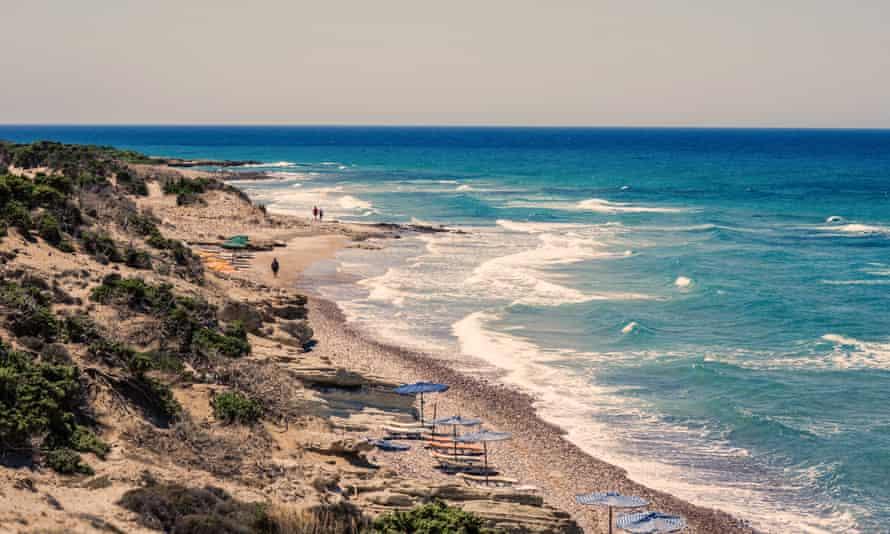 Kos Island beach, Kefalos