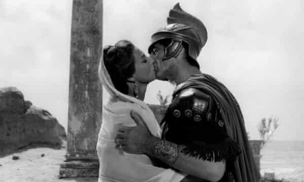 Victor Mature and Rita Gam in the 1959 film Hannibal.