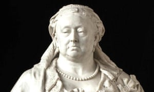 Sir Alfred Gilbert's marble portrait of Queen Victoria