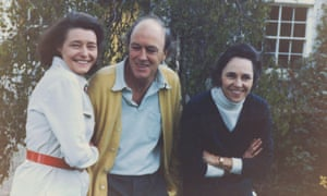 Roald Dahl with Pat and Valerie Eaton Griffith