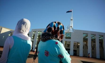 Muslim women in Australia