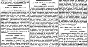 Manchester Guardian, 15 September 1910.