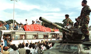 Student protesters Indonesia 1998