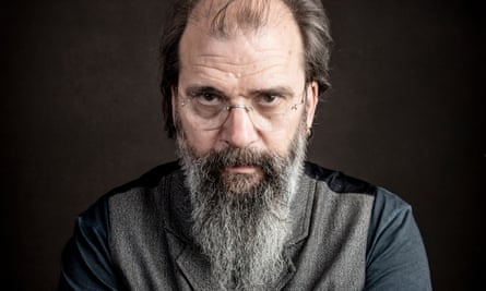 'I finally have a reason to get up in the morning' … Steve Earle.