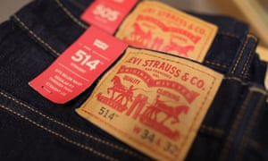 Levi's pioneered using rivets at the points of stress to make jeans last longer.