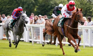 Danny Tudhope aboard Infinite Grace on their way to a win at Ripon earlier this week.