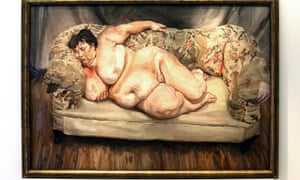 Benefits Supervisor Sleeping by Lucian Freud.
