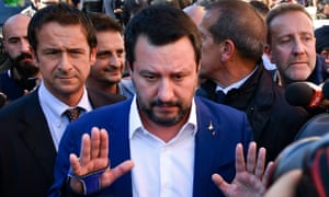 Italian deputy PM Matteo Salvini has stoked up his nation's budgetary standoff with the EU.