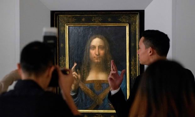 theguardian.com - Dalya Alberge - Mystery over Christ's orb in $100m Leonardo da Vinci painting