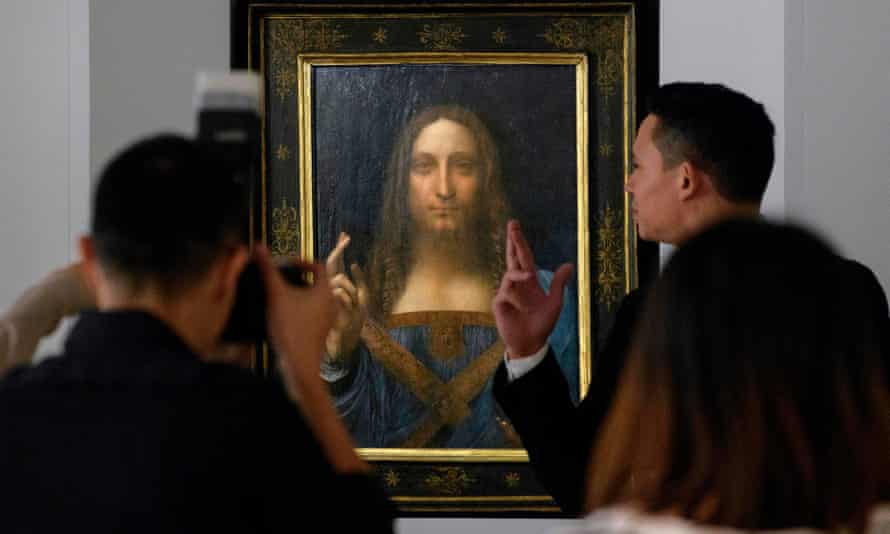 Salvator Mundi was the first new Leonardo to be discovered since 1909.