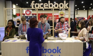 The Facebook stall at the Conservative Political Action Conference (CPAC), and major event in the conservative calendar.