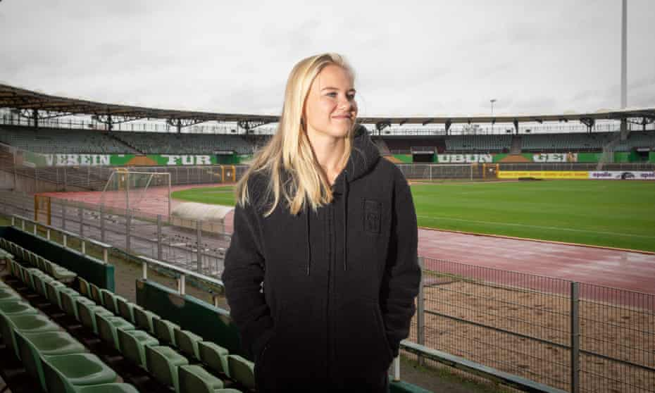 Pernille Harder: 'There is more respect for women's football all over. But we are not there yet'