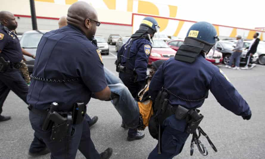 baltimore police protests freddie gray