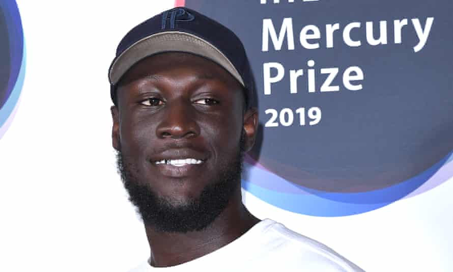 Stormzy at the Mercury prize ceremony – of which he was a judge – London, 19 September 2019.