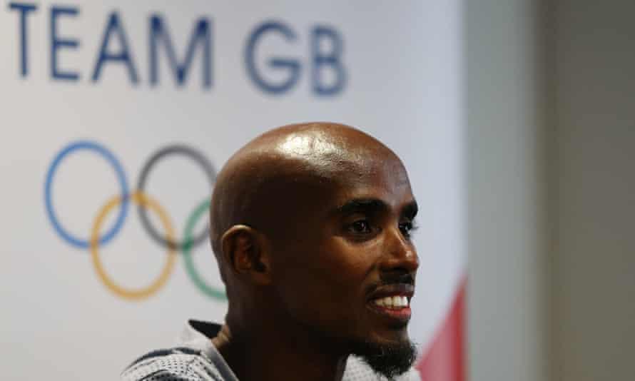 Mo Farah, 10,000m and 5,000m runner
