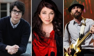 Car Seat Headrest's Will Toledo, Kate Bush and James Mercer of the Shins.
