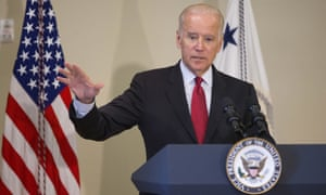 'Gun violence is ravaging our communities,' Joe Biden said in a live-streamed address on Tuesday.